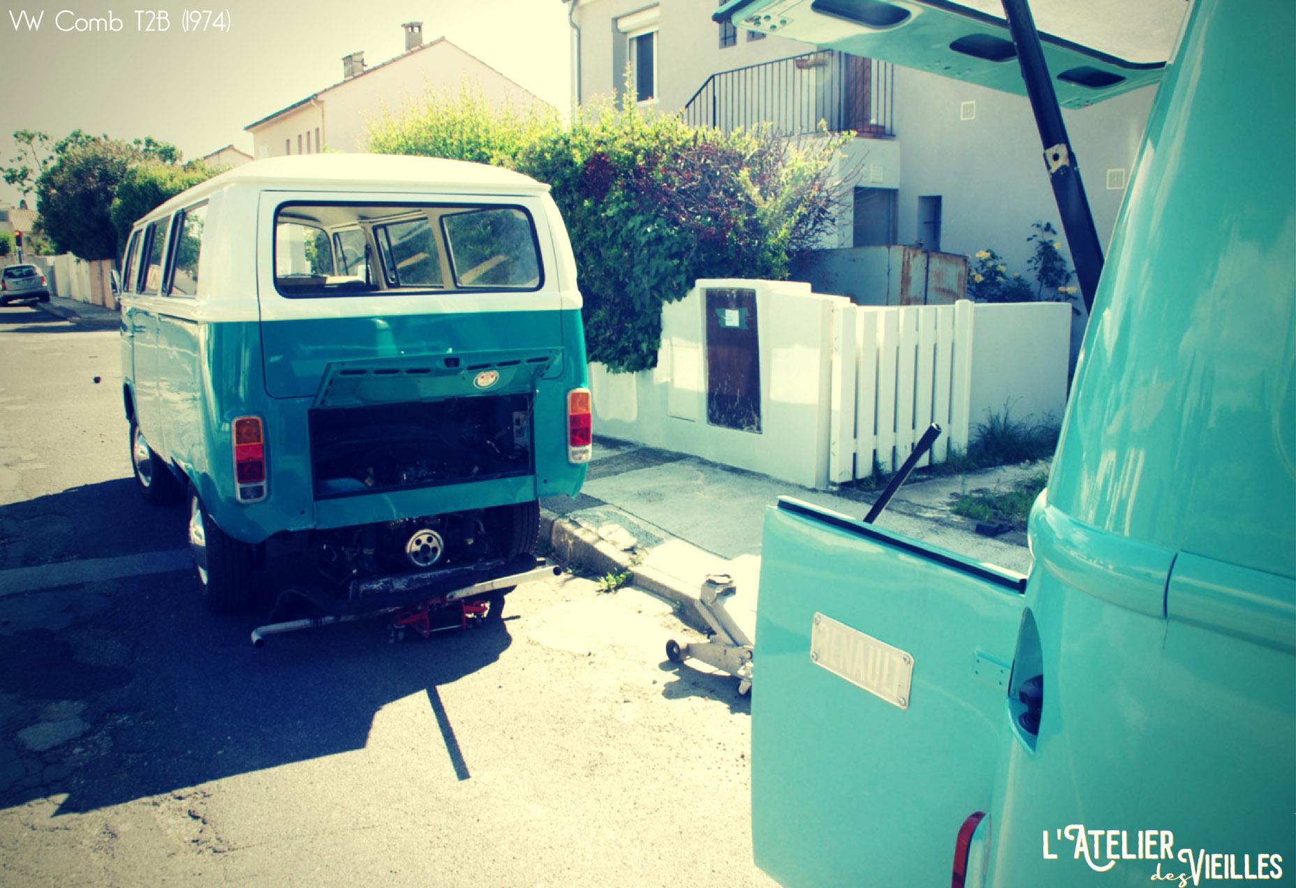 Garage mobile pour v hicules anciens h rault gard for Garage volkswagen lunel